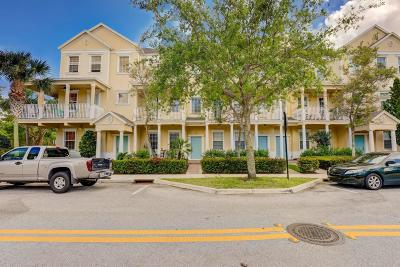 Jupiter Townhouse For Sale: 110 Sea Plum Drive #102