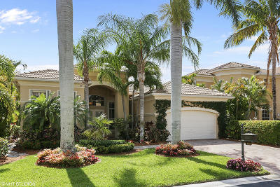 Palm Beach Gardens Single Family Home For Sale: 133 Tranquilla Drive