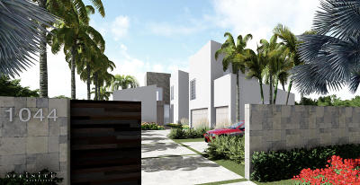 Delray Beach Single Family Home For Sale: 1044 S Ocean Boulevard