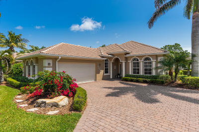 Jensen Beach Single Family Home For Sale: 4589 NW Indian Oak Court