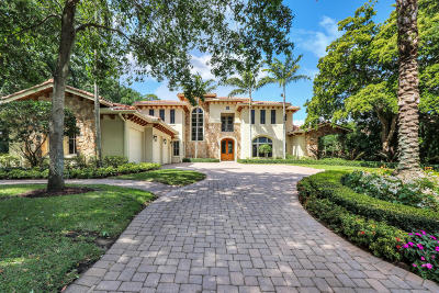 Palm Beach Single Family Home For Sale: 3200 Monet Drive