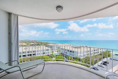 Palm Beach Condo For Sale: 2295 S Ocean Boulevard #918