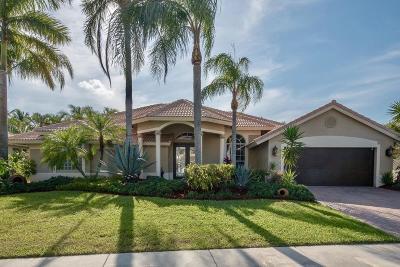 Boca Raton Single Family Home For Sale: 20101 Palm Island Drive