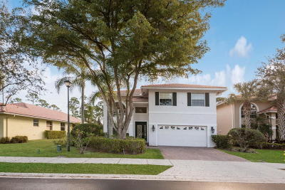 Palm Beach Gardens Single Family Home For Sale: 106 Hidden Hollow Drive