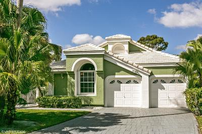 Palm Beach Gardens Single Family Home Contingent: 12880 Oak Knoll Drive