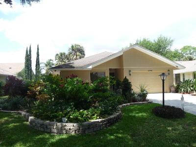 Hobe Sound Single Family Home Contingent: 12790 SE Laurel Valley Lane
