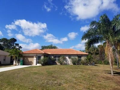 Port Saint Lucie Single Family Home For Sale: 1902 SW Dorado Lane