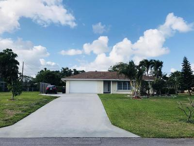 Delray Beach Single Family Home For Sale: 3313 Sherwood Boulevard