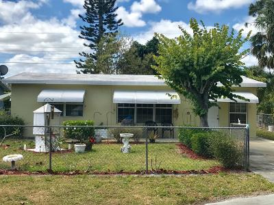 Stuart FL Single Family Home Sold: $146,000