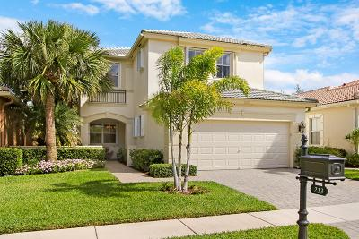 Palm Beach Gardens Single Family Home Contingent: 213 Isle Verde Way