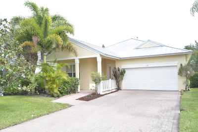 Port Saint Lucie Single Family Home Contingent: 136 NW Pleasant Grove Way