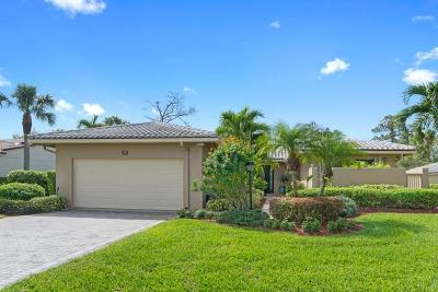 Boynton Beach Single Family Home For Sale: 53 Northwoods Lane