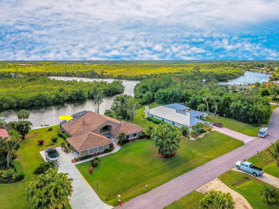 Port Saint Lucie Single Family Home Contingent: 621 SE Hidden River Drive