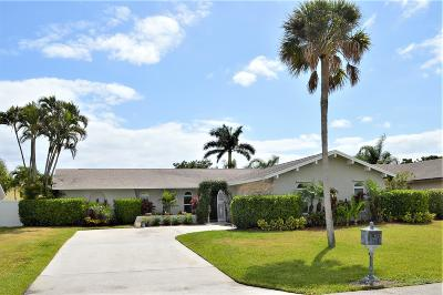 Palm Beach Gardens Single Family Home For Sale: 11886 Hemlock Street