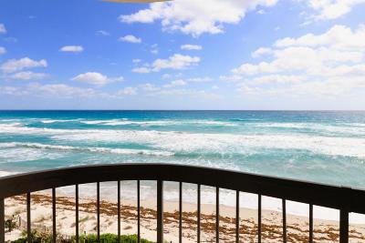 Singer Island Condo For Sale: 5380 Ocean Drive #4d