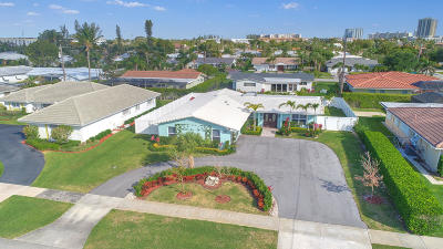 North Palm Beach Single Family Home For Sale: 107 Dory Road