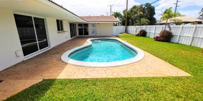 Fort Lauderdale Single Family Home For Sale: 5761 NE 18th Terrace