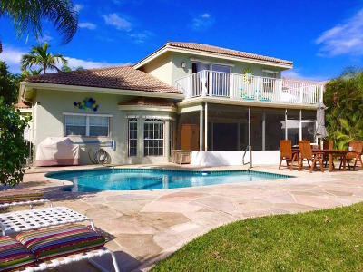 Boynton Beach Single Family Home For Sale: 9398 Aqua Vista Boulevard