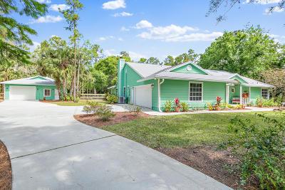 Jupiter Single Family Home Contingent: 12198 Randolph Siding Road