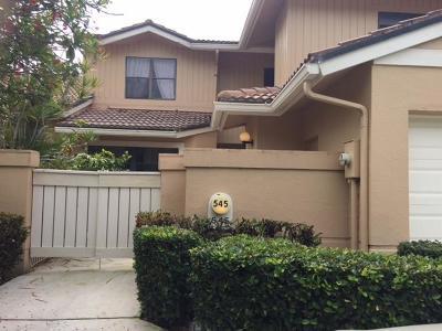 Palm Beach Gardens Rental For Rent: 545 Prestwick Circle