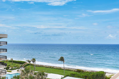 Palm Beach Condo For Sale: 3450 S Ocean Boulevard #601