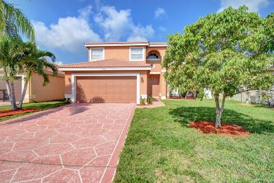 Boca Raton Single Family Home For Sale: 18953 Adagio Drive