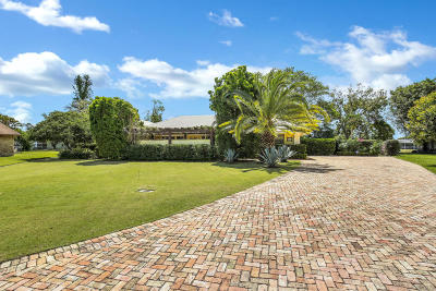 Palm Beach Gardens Single Family Home For Sale: 4596 Spruce Lane