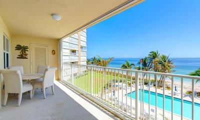 Highland Beach Condo For Sale: 3101 S Ocean Boulevard #412