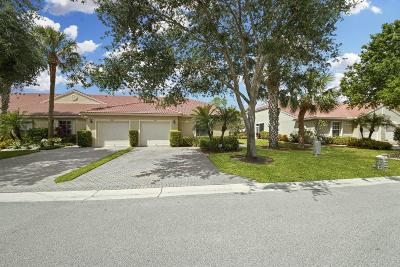 Boynton Beach Single Family Home Contingent: 5145 Toscana Trail