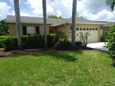 Wellington Single Family Home For Sale: 1312 Waterway Cove Drive