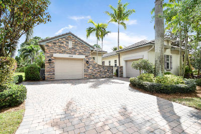Palm Beach Gardens Single Family Home Contingent: 1302 Sonoma Court