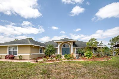 Loxahatchee Single Family Home For Sale: 15057 Key Lime Boulevard
