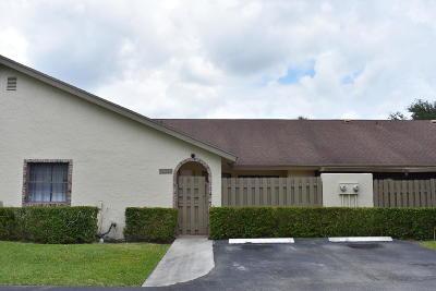 Boca Raton FL Single Family Home For Sale: $215,000