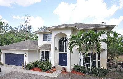 Loxahatchee Single Family Home For Sale: 17293 31st Road