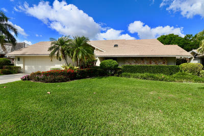 Palm Beach Gardens Single Family Home For Sale: 13249 Bonnette Drive