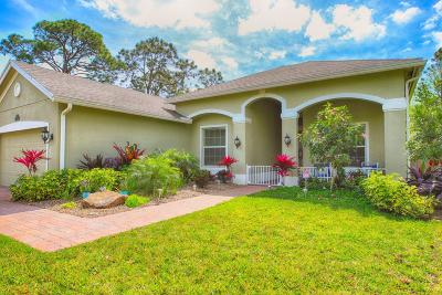 Fort Pierce Single Family Home For Sale: 4411 Belle Grove Drive