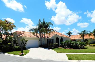 Palm Beach Gardens Single Family Home For Sale: 2511 La Cristal Circle