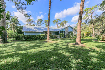 Jupiter Single Family Home Contingent: 5914 River Club Circle
