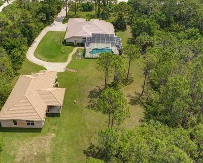 Port Saint Lucie Single Family Home For Sale: 7964 Saddlebrook Drive