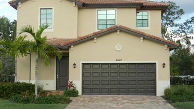 Greenacres Single Family Home For Sale: 4812 Conifer Court