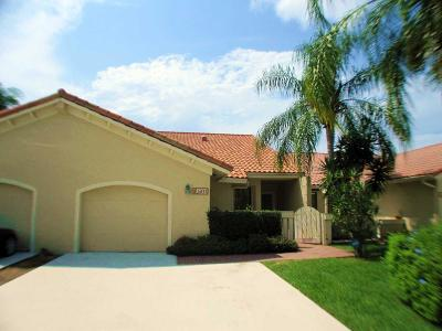 Boca Raton Single Family Home Contingent: 6845 Consolata Street