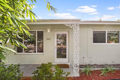 Lake Worth Single Family Home Contingent: 1612 O Street