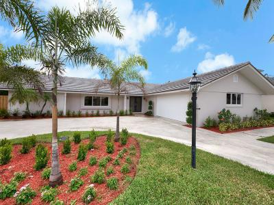 North Palm Beach Single Family Home For Sale: 1568 Point Way