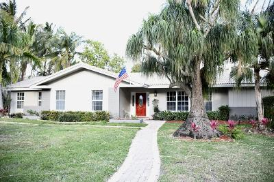 West Palm Beach Single Family Home Contingent: 1920 Bell Lane