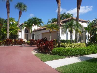 Boca Raton Single Family Home Contingent: 7211 Via Palomar