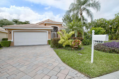 Boynton Beach Single Family Home For Sale: 7432 Lugano Drive