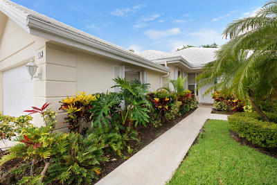 Palm Beach Gardens Single Family Home For Sale: 1092 Bedford Avenue