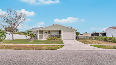 Royal Palm Beach Single Family Home For Sale: 10693 Misty Lane