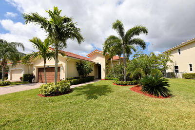 Palm Beach Gardens Single Family Home For Sale: 12124 Aviles Circle