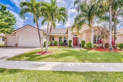 West Palm Beach Single Family Home Contingent: 1436 Stonehaven Estates Drive